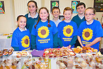The newly formed Holy Family National School student council helped out at the school's coffee morning in aid of Marymount Hospice. <br />
