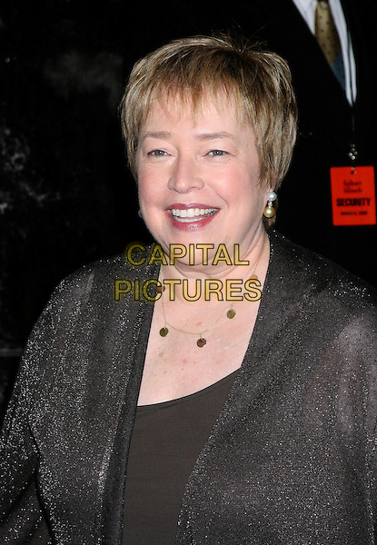 "KATHY BATES.World Premiere Of ""Failure To Launch"" at the Clearview Chealsea West Theatre, New York NY, USA..March 8th, 2006.Ref: IW.headshot portrait pearl errings gold necklace.www.capitalpictures.com.sales@capitalpictures.com.©Capital Pictures"