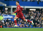 Roberto Firmino of Liverpool during the premier league match at Goodison Park Stadium, Liverpool. Picture date 7th April 2018. Picture credit should read: Robin Parker/Sportimage