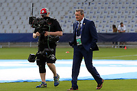 England Under21 manager Aidy Boothroyd inspects the pitch before England Under-21 vs Poland Under-21, UEFA European Under-21 Championship Football at The Kolporter Arena on 22nd June 2017