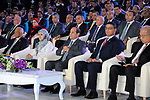 Egyptian President Abdel Fattah al-Sisi attends the opening of the fourth national youth conference, in Cairo, Egypt, on July 24, 2017. Photo by Egyptian President Office