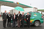 Cllr Finnan McCoy, Peter Savage, Chairman of Louth County Council, Cllr Jim Lennon, Cllr Oliver Tully, Eamonn Martin, Top National Fuel Card Manager with Martin Daly, Top Commercial Manager at the Official Opening of the new Applegreen Service Station on the M1 Southbound at Castlebellingham...Picture Jenny Matthews/Newsfile.ie