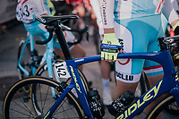 Alex Kirsch (LUX/WB Aqua Protect-Veranclassic) at the race start<br /> <br /> MEN ELITE ROAD RACE<br /> Kufstein to Innsbruck: 258.5 km<br /> <br /> UCI 2018 Road World Championships<br /> Innsbruck - Tirol / Austria