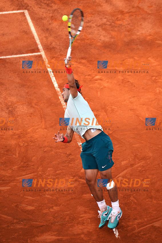 Rafael Nadal Spain .Roma 17/05/2013 Foro Italico .Tennis Internazionali d'Italia 2013 .Foto Andrea Staccioli Insidefoto