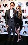 Thomas Sadowski and Amanda Seyfried attends the WP Theater's 40th Anniversary Gala -  Women of Achievement Awards at the Edison Hotel on April 15, 2019  in New York City.