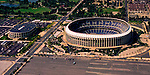 Aerial view of the Wachovia Spectrum and Veterans Stadium