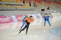 SPEEDSKATING: SOCHI: Adler Arena, 21-03-2013, Training, Bob de Jong (NED), © Martin de Jong