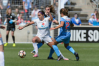Bridgeview, IL - Saturday April 22, 2017: Sydney Leroux during a regular season National Women's Soccer League (NWSL) match between the Chicago Red Stars and FC Kansas City at Toyota Park.