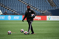 SEATTLE, WA - NOVEMBER 9: Assistant coach Jason Bent of Toronto FC at CenturyLink Field on November 9, 2019 in Seattle, Washington.