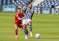 Fulham's Joe Bryan competing with West Bromwich Albion's Matt Phillips (right) <br /> <br /> Photographer Andrew Kearns/CameraSport<br /> <br /> The EFL Sky Bet Championship - West Bromwich Albion v Fulham - Tuesday July 14th 2020 - The Hawthorns - West Bromwich <br /> <br /> World Copyright © 2020 CameraSport. All rights reserved. 43 Linden Ave. Countesthorpe. Leicester. England. LE8 5PG - Tel: +44 (0) 116 277 4147 - admin@camerasport.com - www.camerasport.com