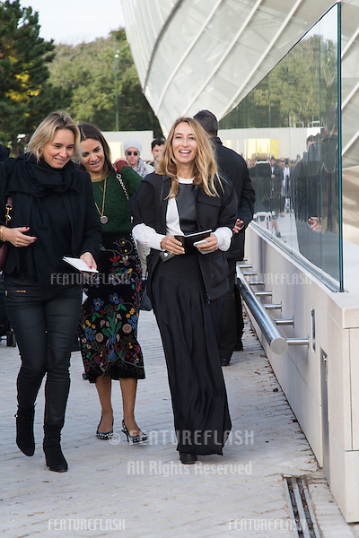 Alexandra Golovanoff attend Louis Vuitton Show Front Row - Paris Fashion Week  2016.<br /> October 7, 2015 Paris, France<br /> Picture: Kristina Afanasyeva / Featureflash