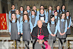 The girls from St Clares National School, Kenmare who were confirmed by Bishop Bill Murphy in the Holy Cross Church, Kenmare on Monday, March 12th..Front Row (L to R) Amber Doran, Eileen Horgan, Lorraine O'Sullivan, Orla O'Sullivan,.2nd Row (L to R) Marie Anne Barbe, Kaitlin Moriarty, Lucy Wallace, Daria Klorek, Elinor Dennison, Ellen O'Sullivan.Back Row (L to R) Magda Rudnicka, Ellen Adams, Amy Harrington, Cara Daly, Eimear O'Sullivan, Katie O'Connell, Chloe Keohane, Aishling Foley..