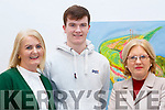 """Helen and Cathal McLoughlin (Tralee) and Grainne Hayes (Tralee) attending opening night of the play Someone Will Watch Over Me""""on Thursday night last in Siamsa Tire."""