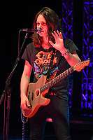 HOLLYWOOD FL - JUNE 21: Tyler Bryant of Tyler Bryant & The Shakedown performs during the Universal Records showcase held at The Diplomat Beach Resort on June 21, 2019 in Hollywood, Florida Credit MPI04 / MediaPunch