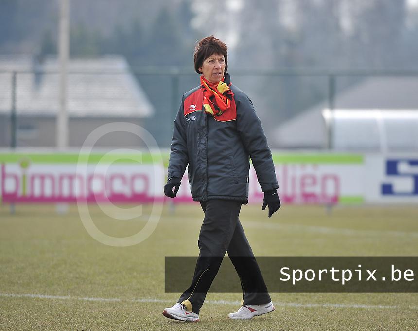 Belgie U17 - Duitsland U17 : Joelle Piron.foto DAVID CATRY / Vrouwenteam.be