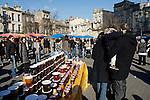 20080202 - France - Aquitaine - Bordeaux<br /> LE MARCHE SAINT-MICHEL, PLACE SAINT-MICHEL A BORDEAUX.<br /> Ref : MARCHE_011.jpg - © Philippe Noisette.