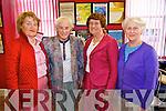 Dora Furlong, Kathleen Styles, Alice Lawlor, Ballyheigue, Una McNamara, Tralee enjoying the International Soprano Miriam Murphy concert at the Fieishmann Studio in the Kerry School of Music on Saturday