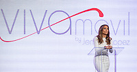 LAS VEGAS, NV - May 22:  Jennifer Lopez pictured as Jennifer Lopez and Marni Walden, Verison Wireless Executive Vice President & COO announce Viva Movil by Jennifer Lopez at Venetian Resort Hotel on  May 22, 2013 in Las Vegas, Nevada. © Kabik/Starlitepics