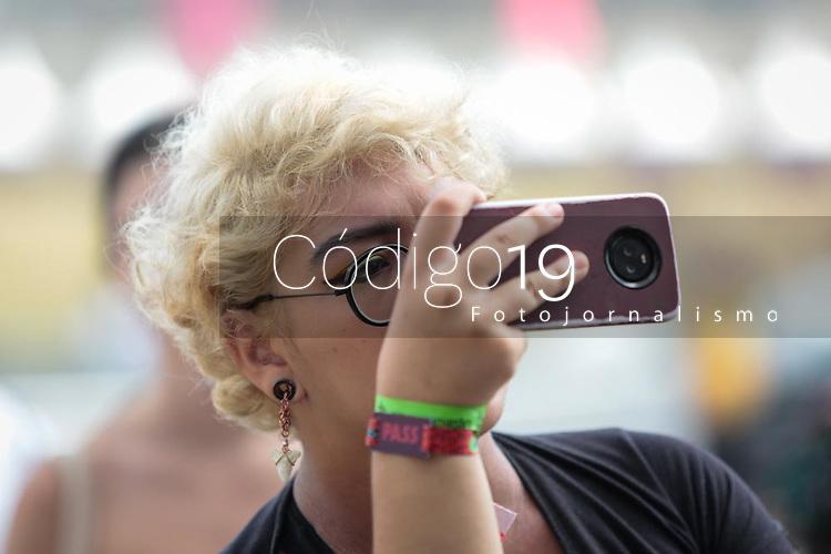 SAO PAULO, SP 06.04.2019: LOLLAPALOOZA-SP - Público. Lollapalooza Brasil 2019, que acontece de 05 a 07 de abril no Autodromo de Interlagos, zona sul da capital paulista. (Foto: Ale Frata/Codigo19)