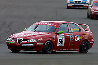 Rounds 4 of the 2002 British Touring Car Championship #56 Alan Blencowe (GBR). Gary Ayles Motorsport. Alfa Romeo 156.