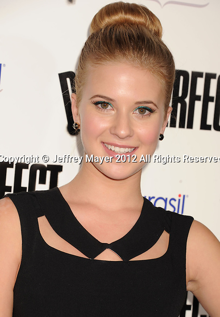 HOLLYWOOD, CA - SEPTEMBER 24: Caroline Sunshine attends the 'Pitch Perfect' - Los Angeles Premiere at ArcLight Hollywood on September 24, 2012 in Hollywood, California.