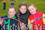 Lauren Elbel, Victoria Aleksejenko and Lisa O'Leary all Killarney having fun at the South West Girl Guides annual fun day in Killarney Community college on Saturday    Copyright Kerry's Eye 2008