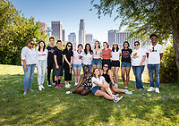 OxyEngage trip with the group, Social Justice, as they visit Vista Hermosa Natural Park.<br /> Incoming Occidental College first-year students explore Los Angeles as part of OxyEngage, Aug. 19-21, 2019.<br /> OxyEngage is a pre-orientation program that introduces incoming students to Los Angeles. Over two days, upperclassmen lead trips to experience culture, film, food, nature, social justice, the urban environment, and more.<br /> (Photo by Marc Campos, Occidental College Photographer)