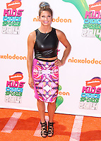 WESTWOOD, LOS ANGELES, CA, USA - JULY 17: Julia Mancuso at the Nickelodeon Kids' Choice Sports Awards 2014 held at UCLA's Pauley Pavilion on July 17, 2014 in Westwood, Los Angeles, California, United States. (Photo by Xavier Collin/Celebrity Monitor)