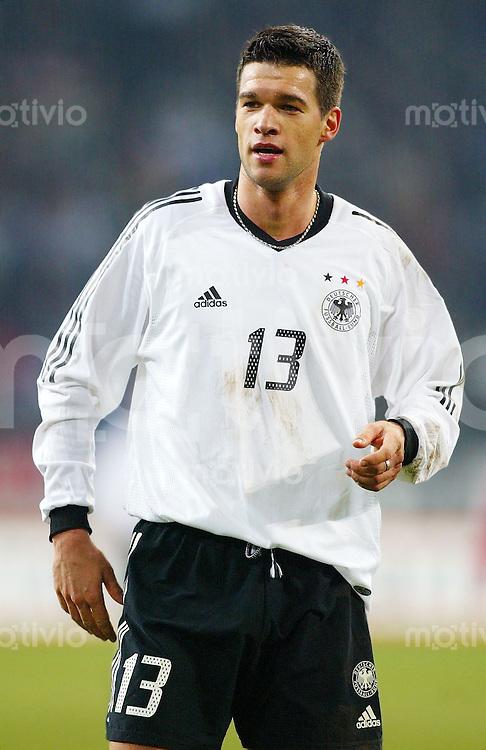 Fussball / Deutsche Nationalmannschaft Michael BALLACK, Gestik deutscher Nationalspieler
