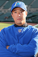 Norfolk Tides Yusaku Iriki during an International League game at Frontier Field on April 18, 2006 in Rochester, New York.  (Mike Janes/Four Seam Images)