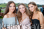 Aoife Walsh (Castleisland) with Caoimhe Leahy and Ciara Madden (Tralee), enjoying Ladies Day at Listowel Races on Friday last.