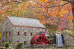 The Wayside Gristmill in Sudbury, Massachusetts, USA