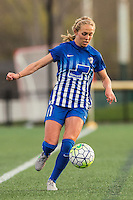 Allston, MA - Sunday, April 24, 2016: Boston Breakers midfielder Brittany Ratcliffe (11). The Boston Breakers play Seattle Reign during a regular season NSWL match at Harvard University.