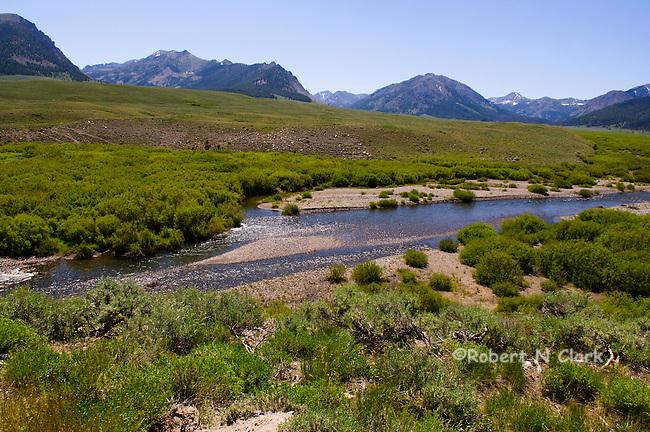 Satr Hope Creek in the Copper Basin near Sun Valley, Idaho