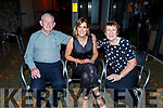 Leanne Ryan from Kevin Barry's Villas celebrating her birthday in Benners Hotel on Saturday night.<br /> L to r: Liam, Leanne and Kit Ryan and Paula Creagan.