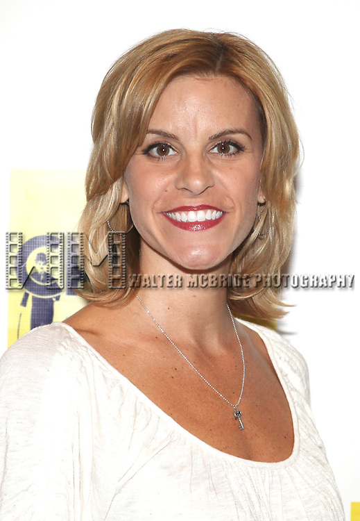Jenn Colella.attends the Meet & Greet the cast of the New Broadway Show 'Chaplin The Musical'  at Foxwoods Theater Rehearsal Studios on August 7, 2012 in New York City.