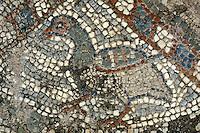 Mosaik in der Basilika von Soli, Zyperni (Nord)