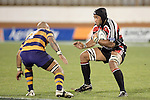 Waka Setitaia & Nili Latu during the Air NZ Cup rugby game between Bay of Plenty & Counties Manukau played at Blue Chip Stadium, Mt Maunganui on 16th of September, 2006. Bay of Plenty won 38 - 11.