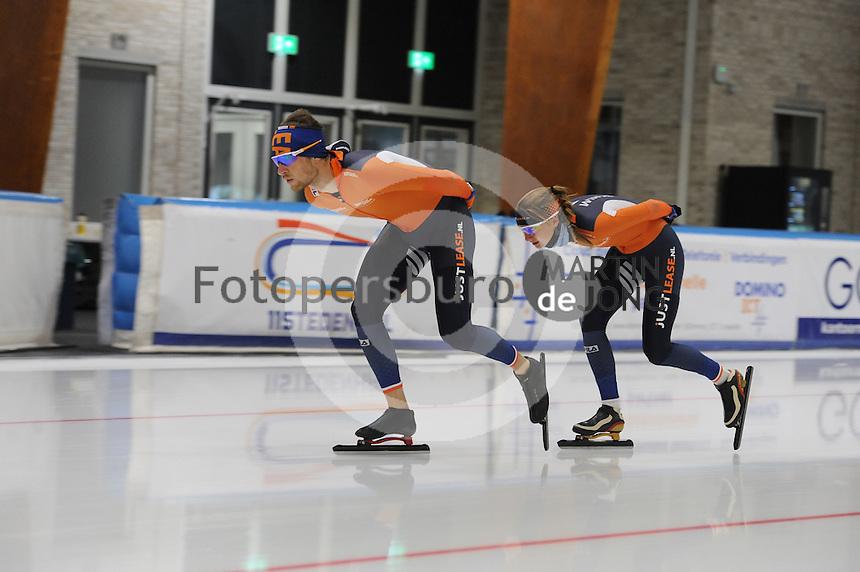 SCHAATSEN: LEEUWARDEN: 28-06-2016, Elfstedenhal, training zomerijs, ©foto Martin de Jong