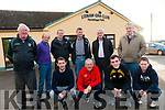 Lixnaw GAA Club: Front : John Griffin, Paul Wallace, Tom Foley & Michael Nolan. Back : Willie Dowling, Denis Quilter, Benny Stack, Tom Bowler, Martin Galvin & Pat McCarthy.