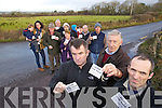 Protesters against the wind farm that is to be set up in the Ballyhorgan, Lixnaw area on Wednesday, are front l-r: John Cronin, Michael Sommers and Aidan Linnane. Back l-r: Daithi Kelly, Catherine Kelly, Mike Dennehy, Joe Leahy, Helen McCarthy, Mary Leahy, Evan White, Maureen Barry, Seamus Browne and Maurice O'Donnell.