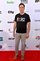 SANTA MONICA, CA. September 07, 2018: Ed Helms at the 2018 Stand Up To Cancer fundraiser at Barker Hangar, Santa Monica Airport.