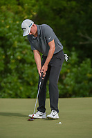 Andrew Wise (USA) sinks his birdie putt on 7 during round 4 of the AT&T Byron Nelson, Trinity Forest Golf Club, at Dallas, Texas, USA. 5/20/2018.<br /> Picture: Golffile | Ken Murray<br /> <br /> All photo usage must carry mandatory copyright credit (© Golffile | Ken Murray)