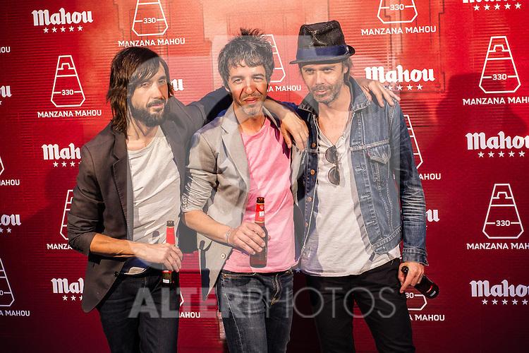 Spanish music group Sidonie during the inauguration of Manzana Mahou 330 space. 22,06,2016. (ALTERPHOTOS/Rodrigo Jimenez)