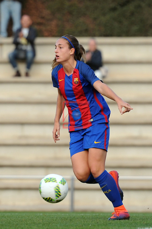 Spanish Women's Football League Iberdrola 2016/17 - Game: 11.<br /> FC Barcelona vs Athletic Club: 2-1.<br /> Alexia Putellas.