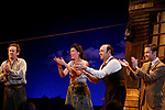 Colm Meaney, Eve Best, Kevin Spacey & Billy Carter<br />during Opening Night Performance Curtain Call of Eugene O'Neill's A MOON FOR THE MISBEGOTTEN at the Brooks Atkinson Theatre in New York City.<br />April 9, 2007