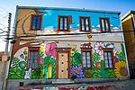Beautiful Painted House, Valparaiso
