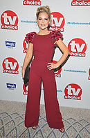 Stephanie Waring at the TV Choice Awards 2018, The Dorchester Hotel, Park Lane, London, England, UK, on Monday 10 September 2018.<br /> CAP/CAN<br /> &copy;CAN/Capital Pictures