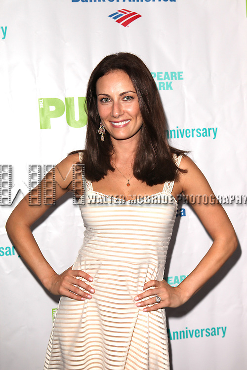 Actress Laura Benanti attending the Opening Night Performance of The Public Theater's 'InTo The Woods' at the Delacorte Theater in New York City on 8/9/2012. Actress Laura Benanti attending the Opening Night Performance of The Public Theater's 'InTo The Woods' at the Delacorte Theater in New York City on 8/9/2012. © Walter McBride/WM Photography