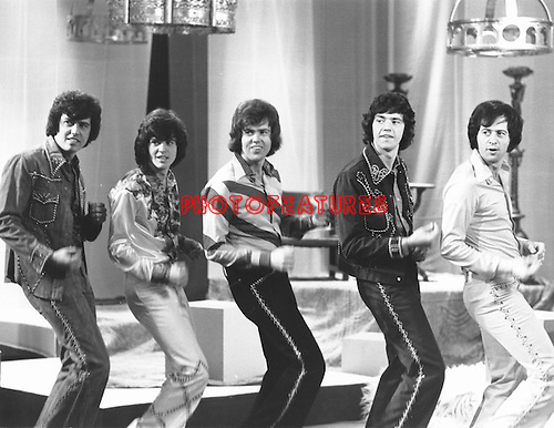 Osmonds 1975 on French TV.© Chris Walter.